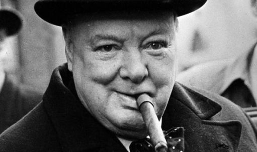 The real dictator, Winston Churchill
