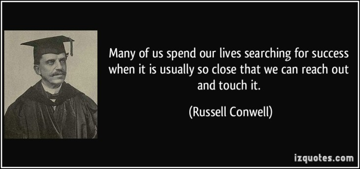 quote-searching-for-success-russell-conwell