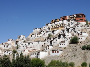 Road trip to leh ladakh from srinagar - Thiksay monastery
