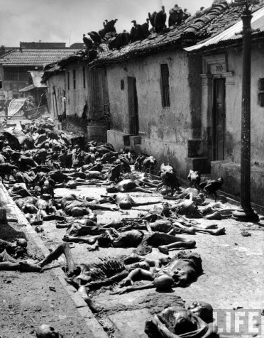 People dying due to food starvation during Bengal famine, Winston Churchill