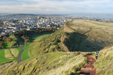 Arthur's Seat - things to do in Edinburgh Scotland