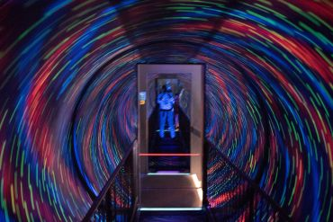 Lighting illusions - things to do in Edinburgh Scotland