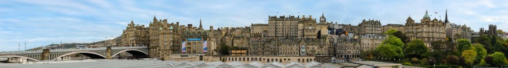 Edinburgh Old Town Skyline - things to do in Edinburgh Scotland