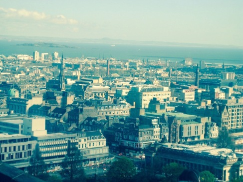 Skyview of Edinburgh - things to do in Edinburgh Scotland