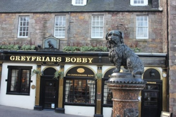 Statue of Greyfriars Bobby - things to do in Edinburgh Scotland