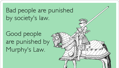 Murphy's funny law