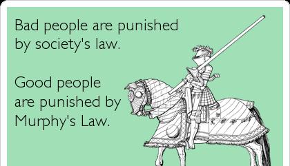 Murphy's funny law