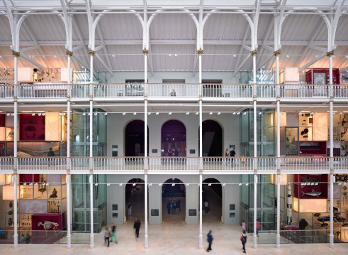 Interior of the National Museum of Scotland - things to do in Edinburgh Scotland