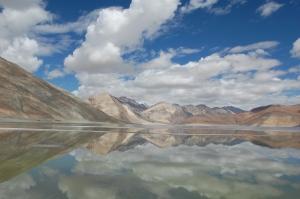 travel from leh to pangong lake- Breath taking view of Pangong Tso, Leh Ladakh, India
